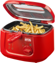 bestron ADF4000HR - Friteuse - 1800 watts - Rouge