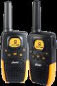 Alecto Electronics FR-26 - Walkie-Talkie - 8 Kanäle - Schwarz/Gelb