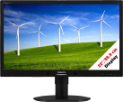 PHILIPS 220B4LPYCB/00 - Monitor - 22/55.9 cm - Nero