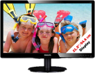 PHILIPS 226V4LAB - Monitor - 21.5/54.6 cm - Nero