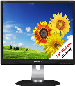 PHILIPS 19P4QYEB/00 - Monitor - 19/48.3 cm - Nero