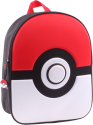 BANPRESTO Pokemon - Sac à dos 3D - Noir/Rouge