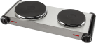 Tristar KP-6248 Doppelkochplatte - 2500 Watt - Edelstahl