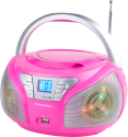 AudioSonic CD-1560, pink