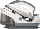 TRISTAR ST-8912 - Ferro da Stiro a vapore compatto - 3.0 Bar - 2200 Watt - Bianco / Grigio