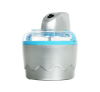 TRISTAR YM-2603 - Sorbettiere - Il contenitore ghiaccio può contenere 0.8 l - argento