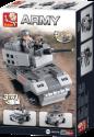 Sluban Bausteine Aircraft Carrier Serie Panzerfahrzeug 3-in-1