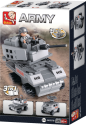 Sluban Costruzioni Aircraft Carrier Serie Armored Vehicle 3-In-1