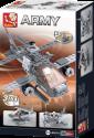 Sluban Elements Aircraft Carrier Serie Hélicoptère de combat 3 en 1