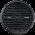 CALIBER CSM16B - 2 voies haut-parleurs coaxiaux - 50 W RMS - Noir