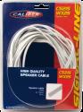 CALIBER CS215WX25 - Câble haut-parleur - 25 m - Blanc