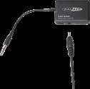 CALIBER PMR201BT - Bluetooth Audio-Receiver - 3.5 mm Jack - Schwarz