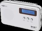 CALIBER HPG316D - Radio - DAB+ - Silber