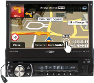 CALIBER RDN575BT - Autoradio - Bluetooth - Schwarz