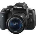 Canon EOS 750D - Appareil photo reflex (DSLR) - 24.2 MP - Wi-Fi/NFC - Noir