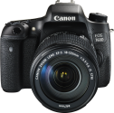 Canon EOS 760D +18-135MM EF-S IS STM - 24.2 MP - nero