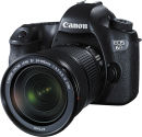 Canon EOS 6D + 24-105mm IS STM Kit, 20.2 MP, Schwarz