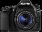 Canon EOS 80D, 18-55 mm, 24.2MP, Schwarz