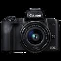 Canon EOS M50 - Fotocamera mirrorless (DSLM) - Con obiettivo - 24.1 MP - Nero