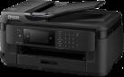 EPSON WorkForce WF-7710DWF - Tintenstrahldrucker - Multifunktionsgerät - Schwarz