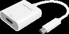 MACALLY UCH4K60 - USB-C-auf-HDMI 4K/60Hz-Adapter - Weiss