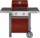 Jamie Oliver G1046XX - Gas Grill-Barbecue - 2 x 3.5 kw - Rot