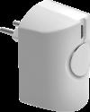 EgardiaSIR-24 - Sirène Intérieure - 95 dB - Blanc