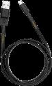 WAKA WAKA Micro USB Ladekabel - 1 m - Schwarz