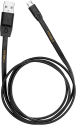 WAKA WAKA Cavetto di ricarica micro USB - 1 m - Nero