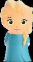 PHILIPS 717680316 Frozen Elsa - SoftPal LED-Nachtlicht - Batteriebetrieben - Blau
