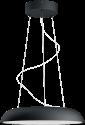 PHILIPS Amaze - Pendelleuchte - 39 W - Schwarz
