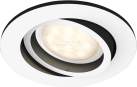 PHILIPS Milliskin - Spot à encastrer - 5.5 W - Blanc/Noir