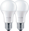 PHILIPS LED-Lampe 9 W, E27, warmweiss