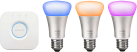 PHILIPS hue Starter Set E27 - blanc et color ambiance