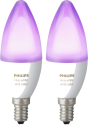 Philips hue E14 - Expansion RGBW - 2 pièces - Blanc et couleur