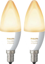 Philips hue E14 White & Ambiance - Expansion - 2 pièces - Blanc