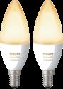 Philips E14 White & Ambiance - Erweiterung - 2 Stück - Weiss