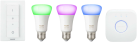 PHILIPS Hue White and Color Ambiance Starter Kit E27 - Beleuchtungssystem - Weiss
