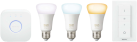 PHILIPS Hue White Ambiance Starter Kit E27 - Système d'éclairage - Fixation E27 - Blanc