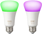 PHILIPS Hue White and Color Ambiance - 2 Lampen - E27 Sockel