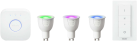 PHILIPS Hue White and Color Ambiance Starter Kit GU10 - Système d'éclairage - Blanc