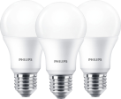 PHILIPS 929001313595 - 3x LED-Lampe A60 - 8.5 W - Weiss