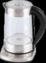 TREBS 99270 - bouilloire d'eau et théière 2 en 1 - capacité : 1,7 litre - inox