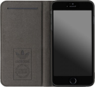 adidas Vintage Booklet Case - für Apple iPhone 6 Plus/6s Plus - Grau