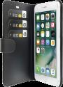 VALENTA Booklet Classic Luxe - für iPhone 7 Plus - Schwarz