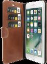 VALENTA Booklet Classic Luxe - für iPhone 7 Plus - Braun
