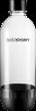 SodaStream 1041160410 - Bottiglia lavabile in lavastoviglie - 1l - Trasparente/Nero