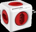 Allocacoc PowerCube Original - 4x T.13 - rot