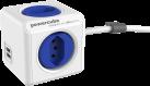 Allocacoc PowerCube Extended USB - 4x T.13, 2x USB 5V, 2,1A - bleu