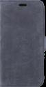 VALENTA Leather Booklet Classic Luxe - Für iPhone X - Vintage Blau